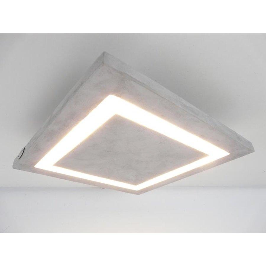 LED Deckenleuchte Betonlampe 30 cm x 30 cm-2