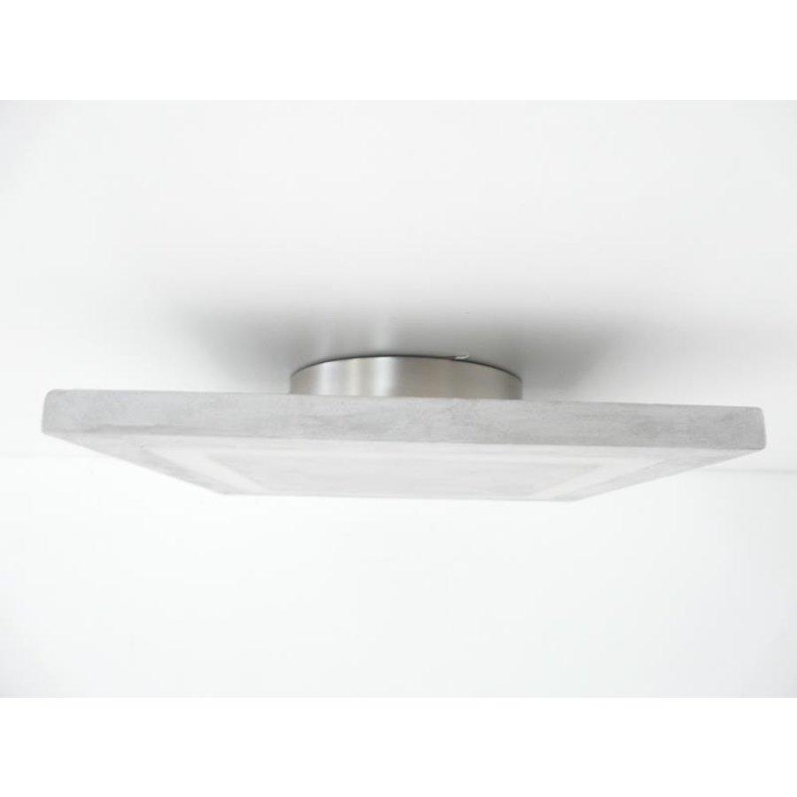 LED Deckenleuchte Betonlampe 30 cm x 30 cm-3