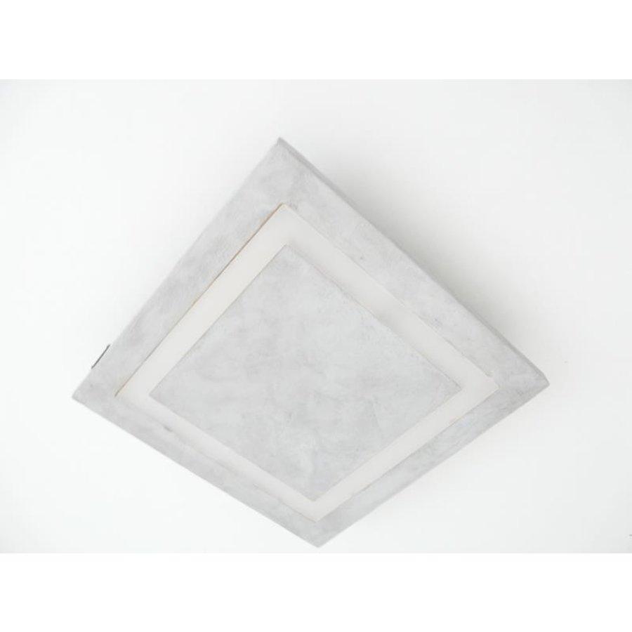 LED Deckenleuchte Betonlampe 30 cm x 30 cm-5