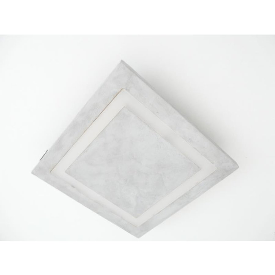 LED Deckenleuchte Betonlampe 30 x 30 cm-5