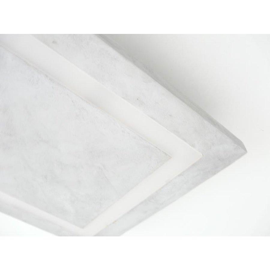 LED Deckenleuchte Betonlampe 30 cm x 30 cm-6