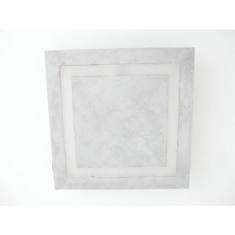 LED Deckenleuchte Betonlampe 30 cm x 30 cm-7