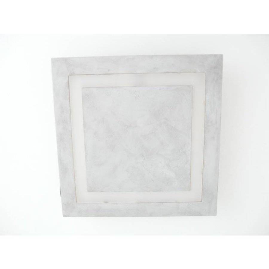 LED Deckenleuchte Betonlampe 30 x 30 cm-7