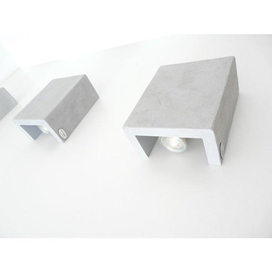 Led Wandleuchte Betonlampe-7