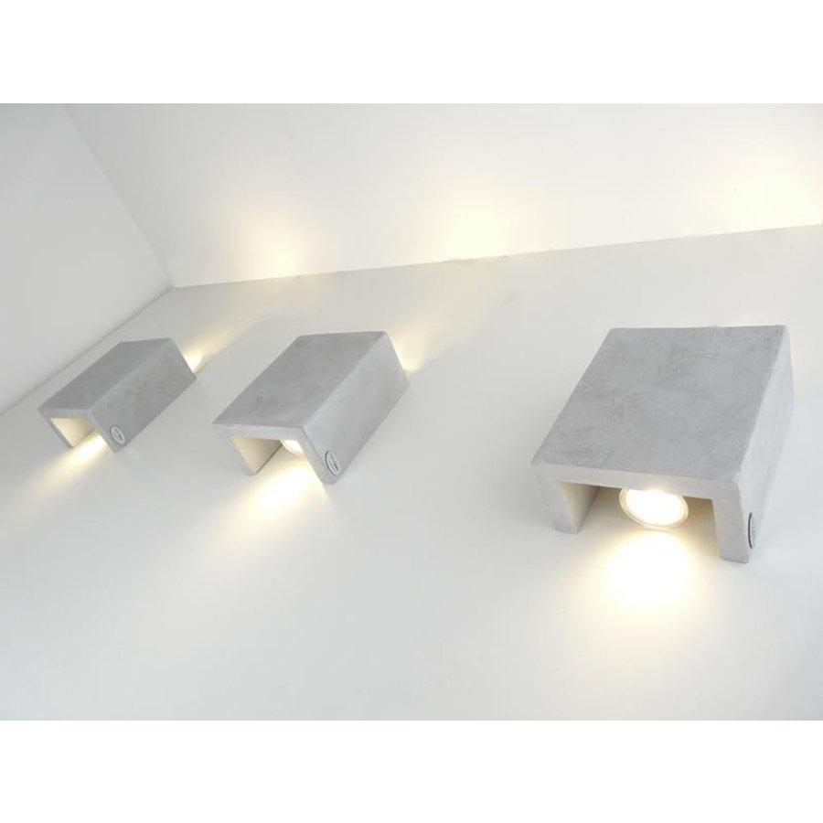 Led Wandleuchte Betonlampe-2
