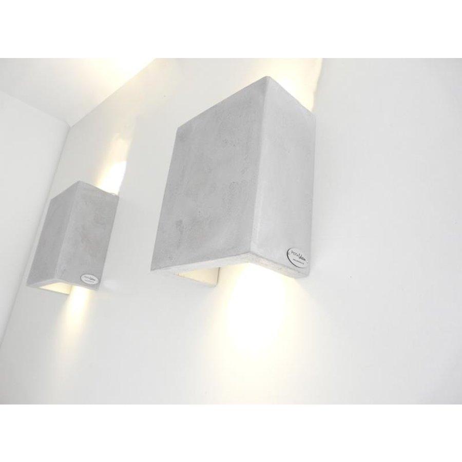 Led Wandleuchte Betonlampe-5