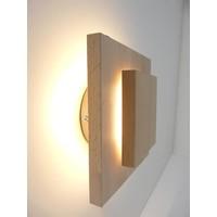 thumb-Led Wandleuchte Holz Buche-1