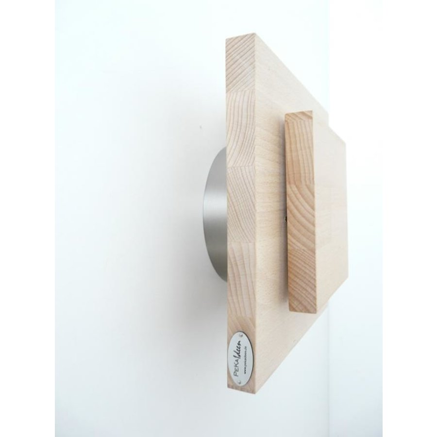 Led Wandleuchte Holz Buche-5