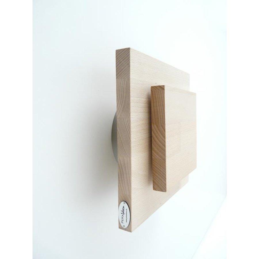Led Wandleuchte Holz Buche-6