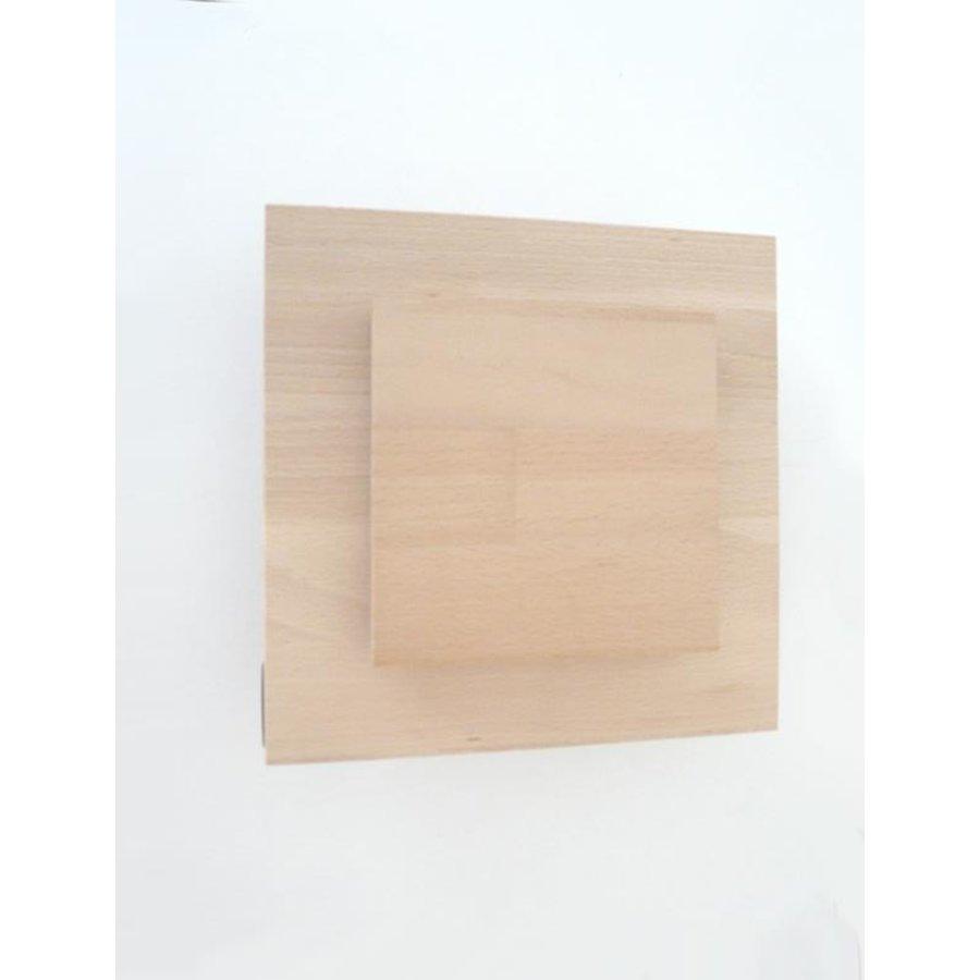 Led Wandleuchte Holz Buche-7