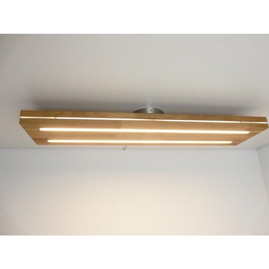 Sandwich Deckenleuchte Holzlampe  Holz Eiche geölt-2