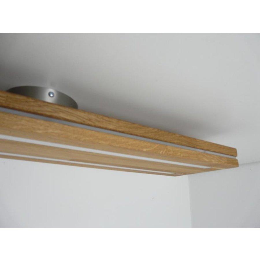 Sandwich Deckenleuchte Holzlampe  Holz Eiche geölt-6