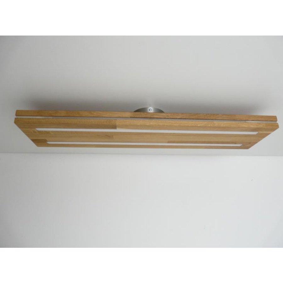 Sandwich Deckenleuchte Holzlampe  Holz Eiche geölt-7