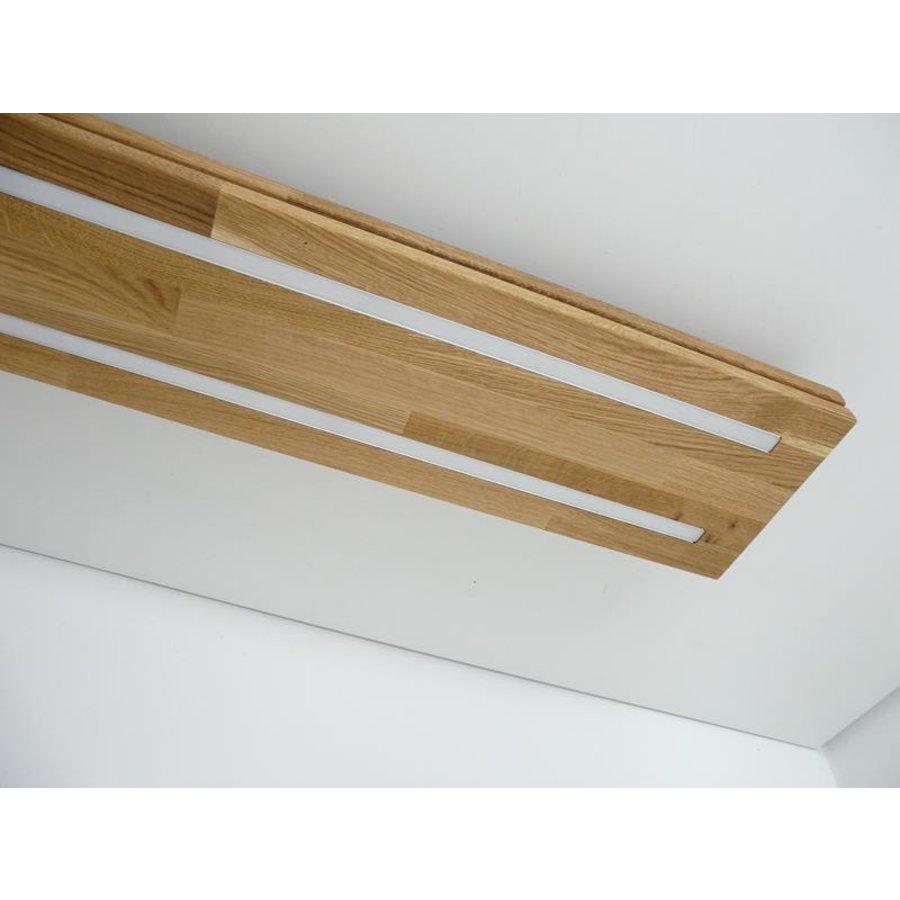 Sandwich Deckenleuchte Holzlampe  Holz Eiche geölt-9