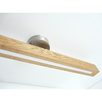 thumb-Deckenleuchte Holzlampe  Holz Eiche geölt-8