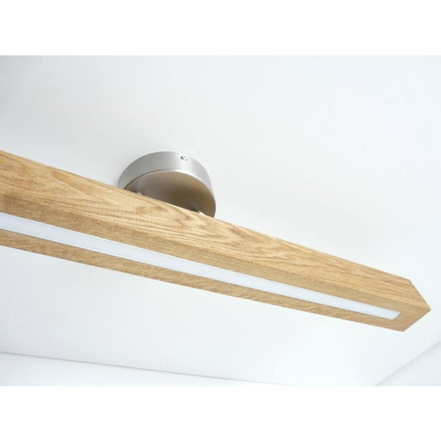 Deckenleuchte Holzlampe  Holz Eiche geölt-8