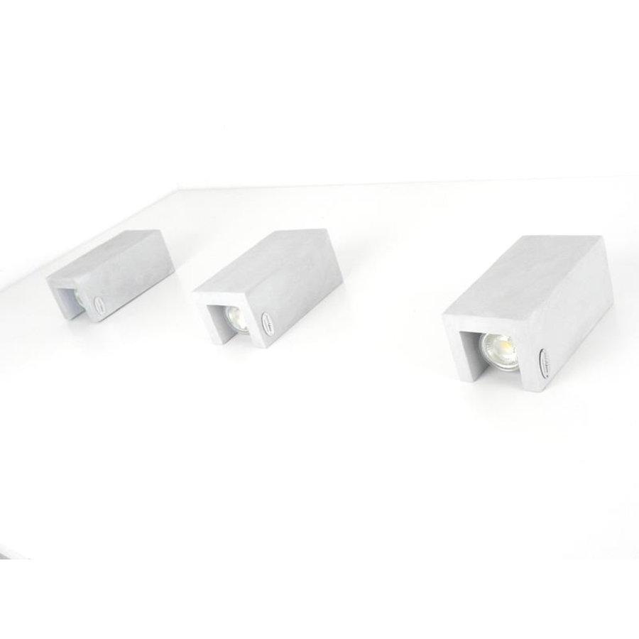 Led Wandleuchte Betonlampe-9