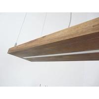 thumb-Hängelampe Holz Akazie mit Ober und Unterlicht-8