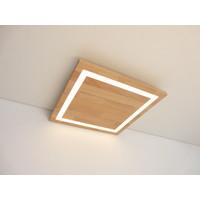 thumb-LED Deckenleuchte Holz Buche  30 x 30 cm-6