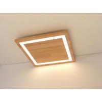 thumb-LED Deckenleuchte Holz Buche  30 x 30 cm-7