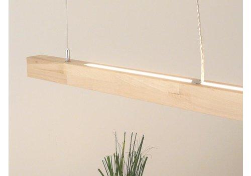 LED Hängelampe Holz Buche Ober- Unterlicht