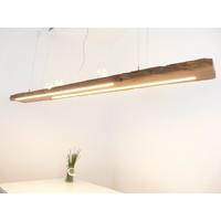 thumb-XL LED Lampe Hängeleuchte Holz Eiche Balkenlampe-1