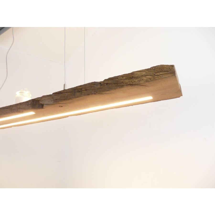 XL LED Lampe Hängeleuchte Holz Eiche Balkenlampe-7