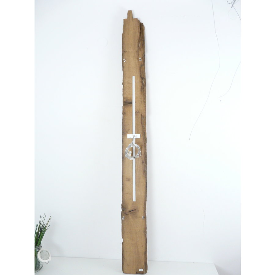XL LED Lampe Hängeleuchte Holz Eiche Balkenlampe-8