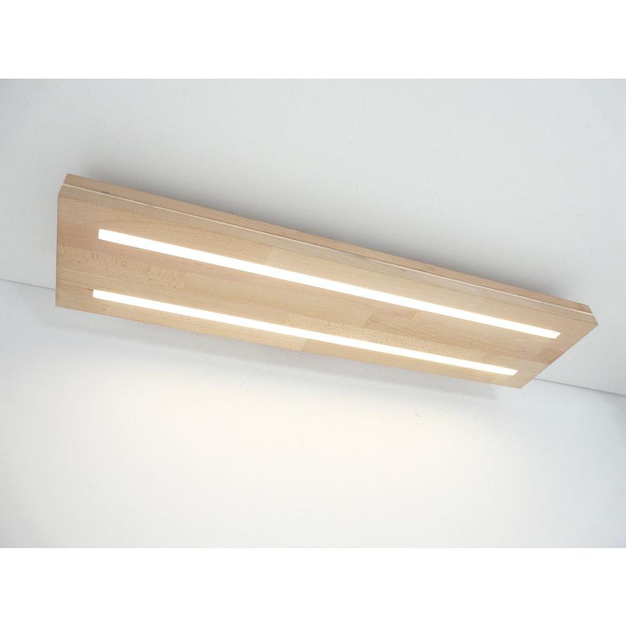 Sandwich Deckenleuchte Holzlampe  Holz Eiche geölt    Buche-3