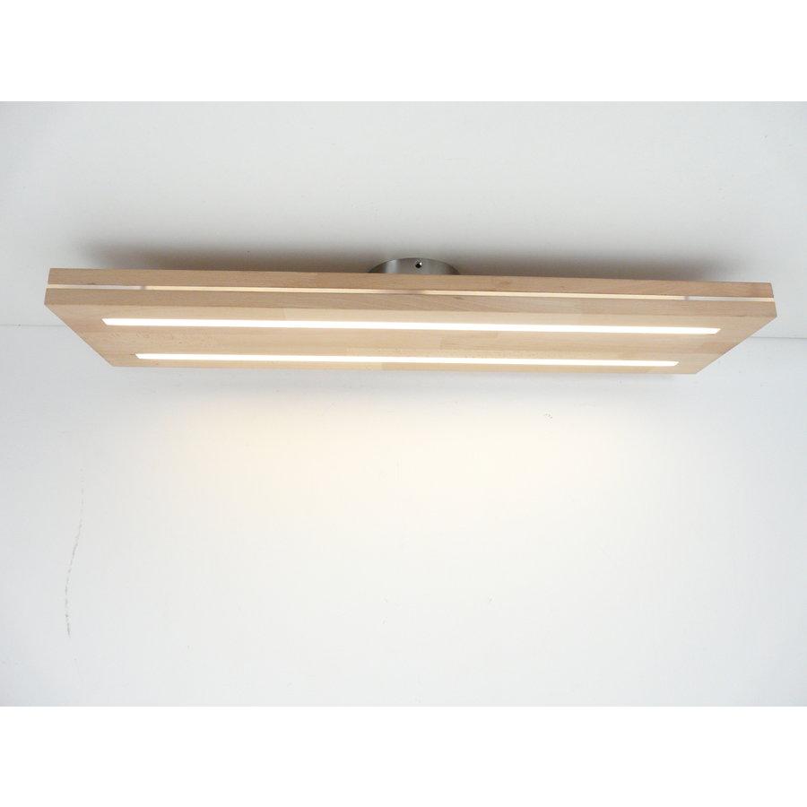 Sandwich Deckenleuchte Holzlampe  Holz Eiche geölt    Buche-4