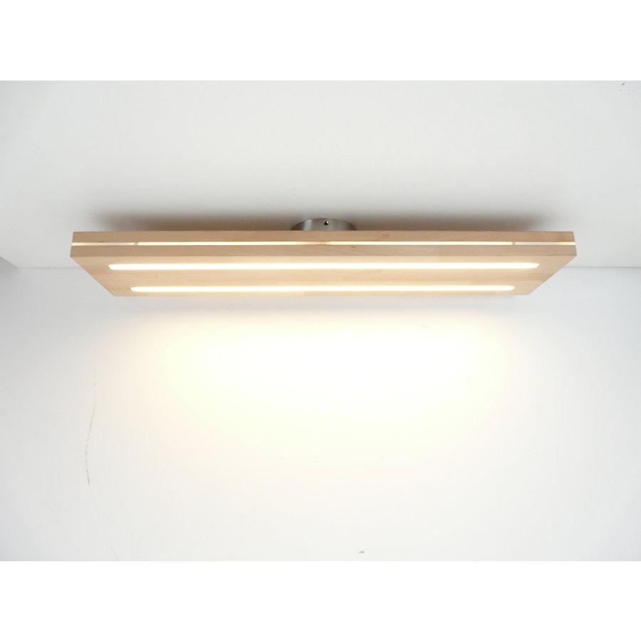 Sandwich Deckenleuchte Holzlampe  Holz Eiche geölt    Buche-5