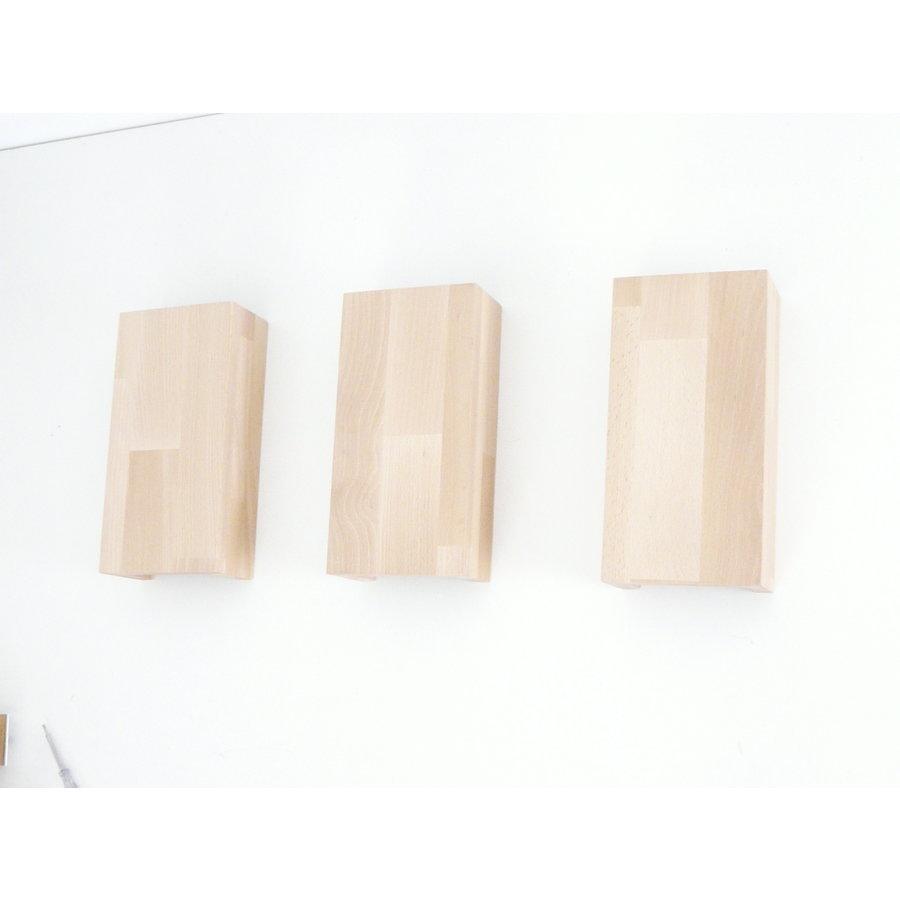 Wandleuchte Holz Buche-3