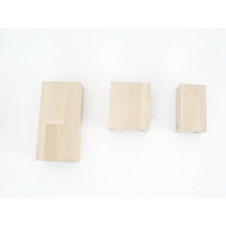 Wandleuchte Holz Buche-5