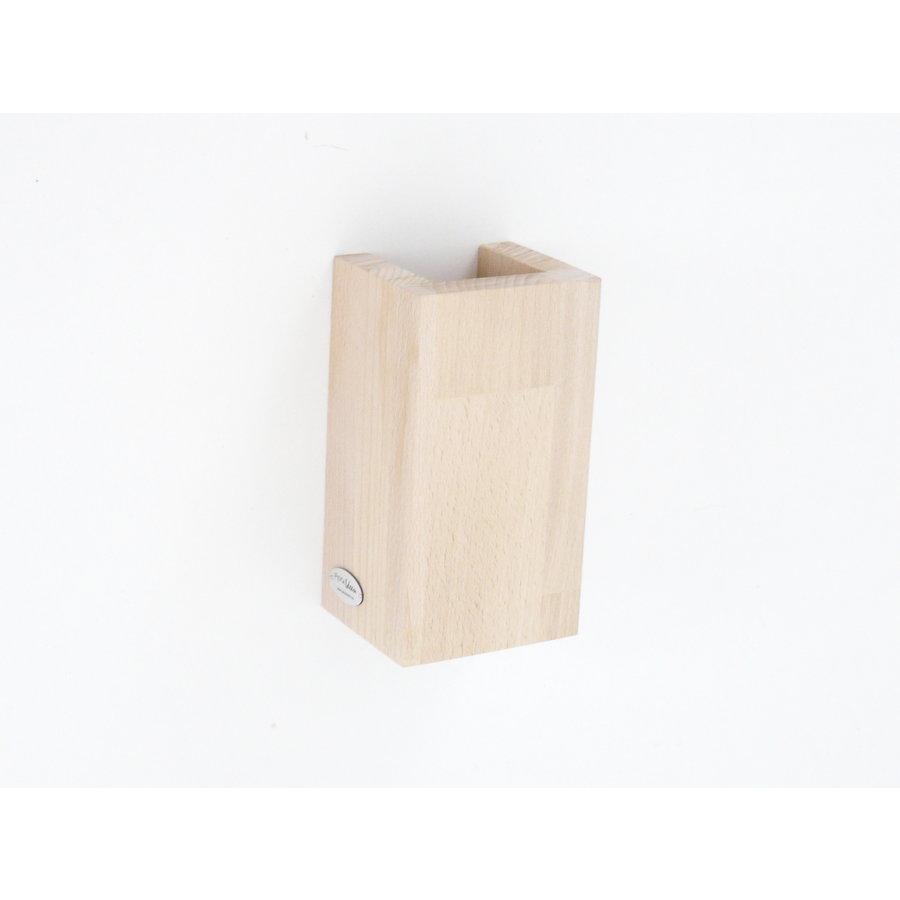 Wandleuchte Holz Buche-2