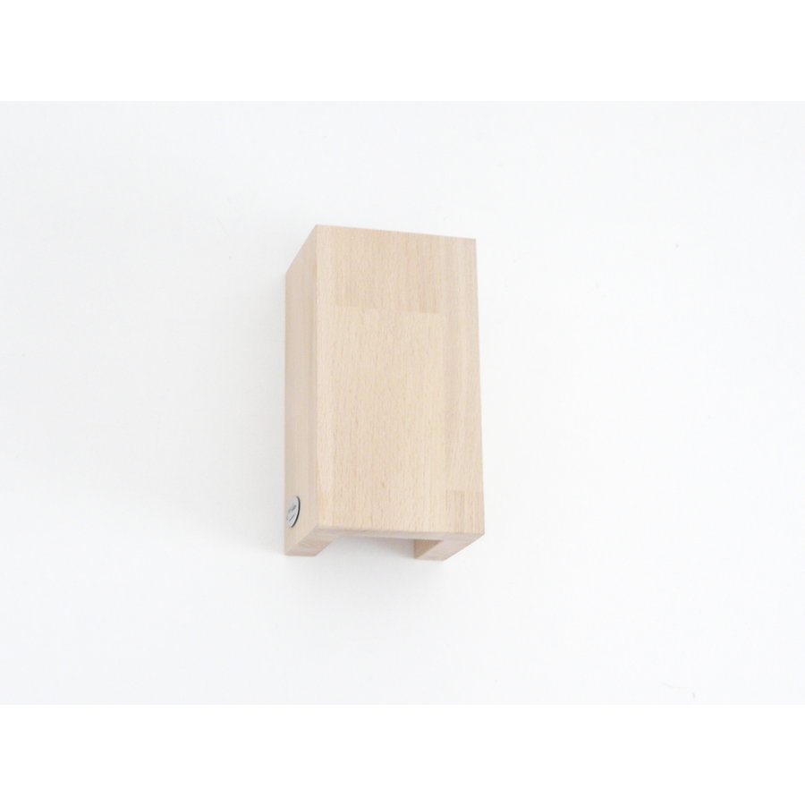 Wandleuchte Holz Buche-9
