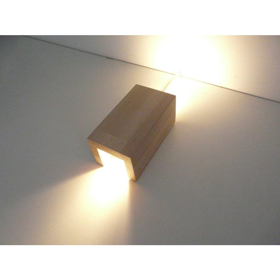 Wandleuchte Holz Buche-7