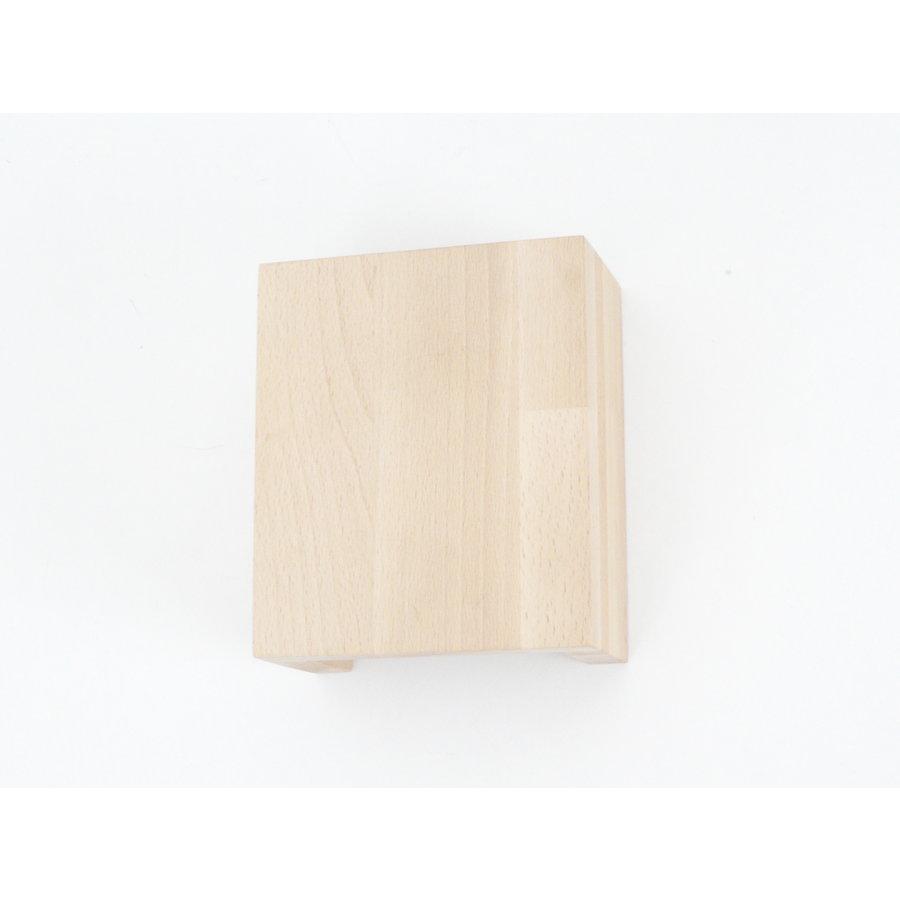 Wandleuchte Holz Buche-6