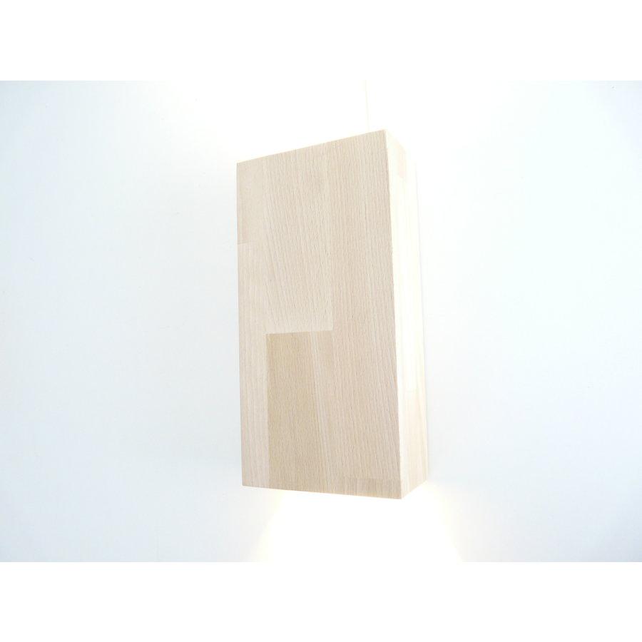 Wandleuchte Holz Buche-8