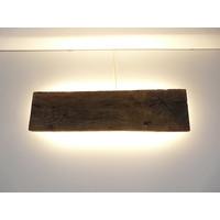 thumb-Led Wandlampe aus antiken Holz-1