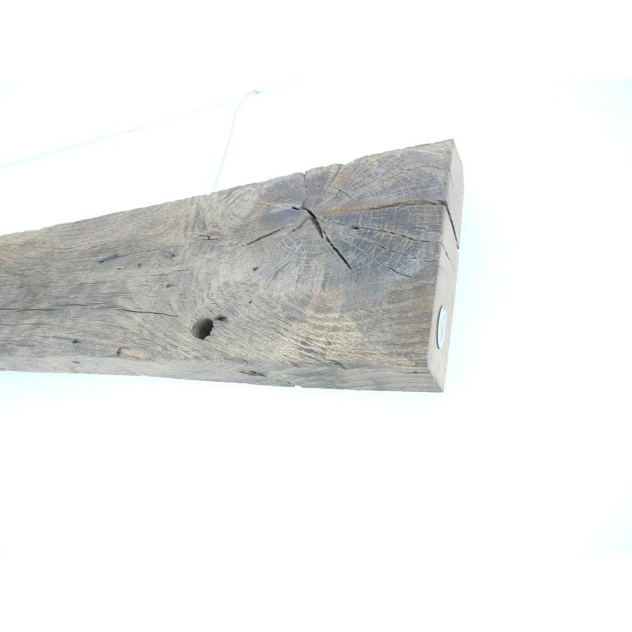 Led Wandlampe aus antiken Holz-7