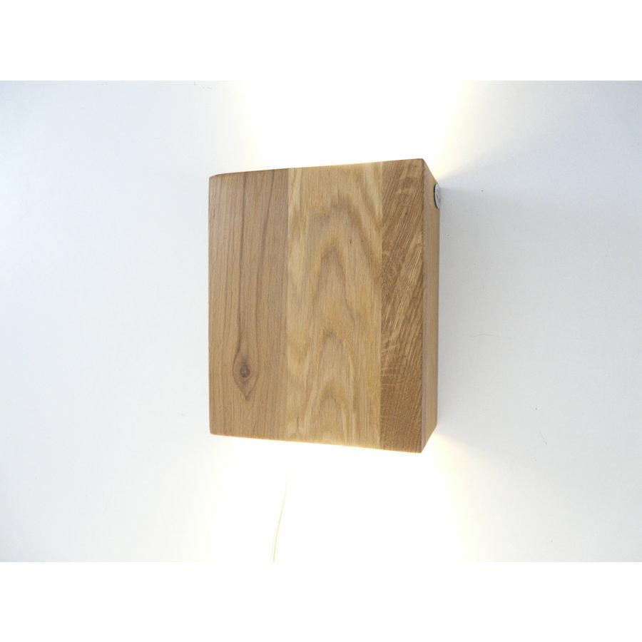 Wandleuchte Holz Eiche geölt-1