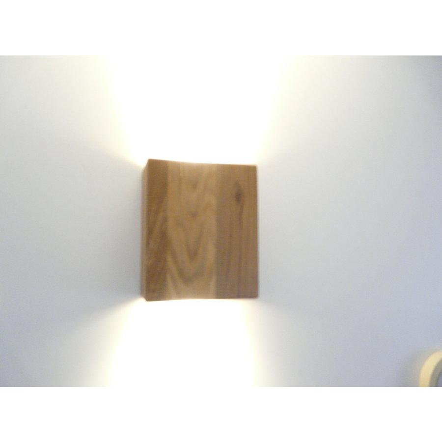 Wandleuchte Holz Eiche geölt-4
