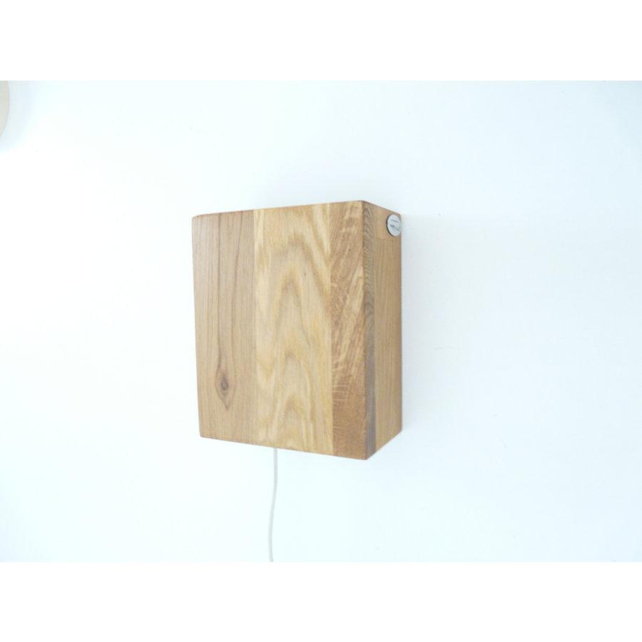 Wandleuchte Holz Eiche geölt-6