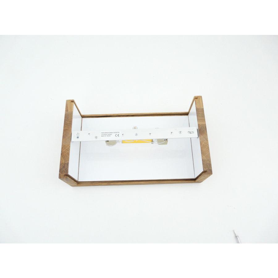 dekorative Led Wandleuchte mit Oberlicht + Unterlicht GU 10 LED-6