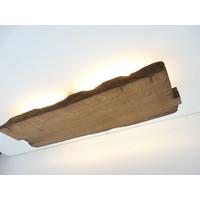thumb-Led Wandlampe aus antiken Holz-5