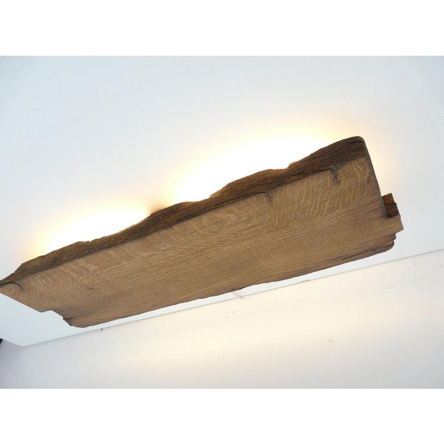 Led Wandlampe aus antiken Holz-5