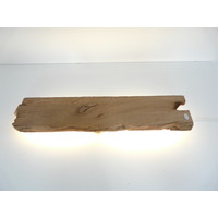 thumb-Led Wandlampe aus antiken Holz-2