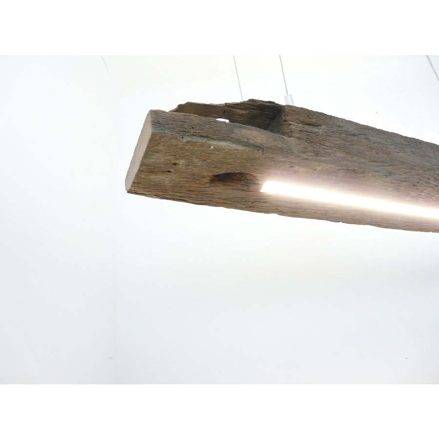 LED Lampe Hängeleuchte Holz antik Balkenleuchte-4
