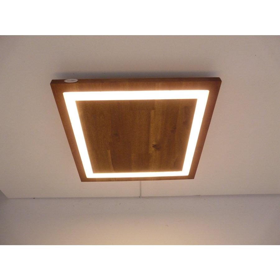 LED Deckenleuchte Holz Akazie  39 x 39 cm-1