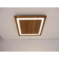 thumb-LED Deckenleuchte Holz Akazie  39 x 39 cm-3